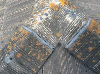 呉市 スレート屋根 腐食
