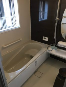 呉市 浴室 手すり設置
