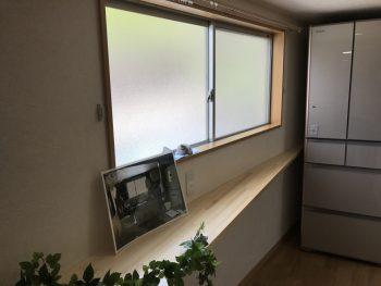 キッチン横にカウンター