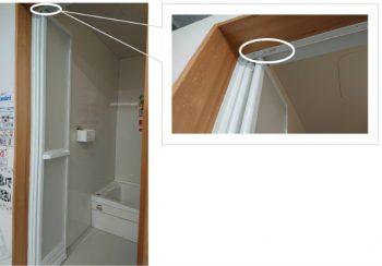 呉市 浴室ドア 交換 タカラ トクラス