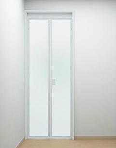 呉市 浴室ドア 交換 折れ戸