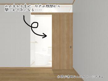 ④トイレの引戸