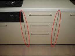 引き出し収納のところに食洗機を設置したい