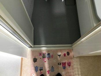 タイルの浴室からユニットバスの施工事例