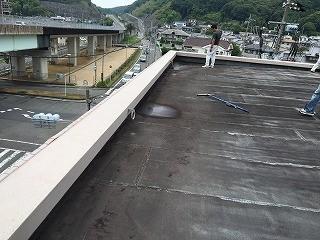 屋根防水施工前②