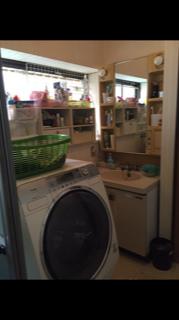 洗面室 デッドスペース
