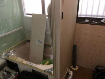 呉市 お風呂 ユニットバス組み立て