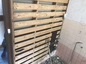 呉市 お風呂リフォーム 解体工事