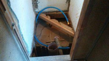 築70年の和風トイレのリフォームはオオサワ創研にお任せください!⑤