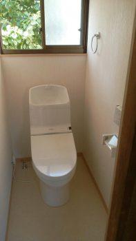 築70年の和風トイレのリフォームはオオサワ創研にお任せください!第2弾⑦