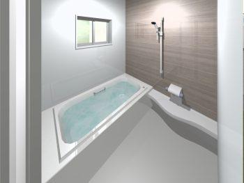 浴槽が小さい+浅い