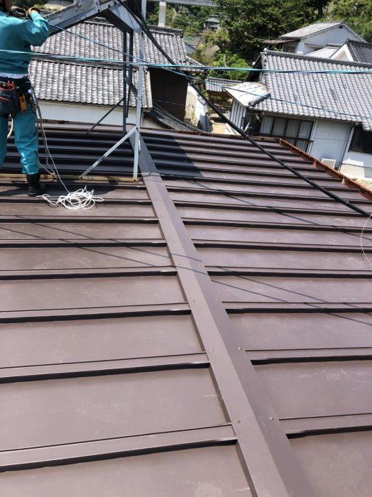 板金屋根 完工後