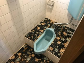 トイレ before 写真