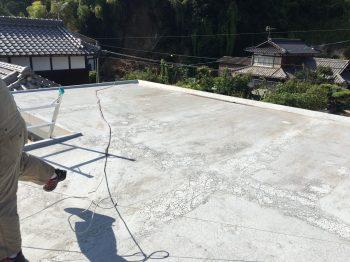 屋上の状況