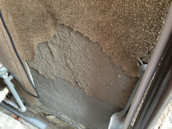 呉市 外壁 劣化 剥がれ