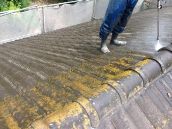 呉市 外壁 高圧洗浄 バイオ
