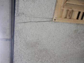 呉市 外壁 劣化 ヒビ割れ