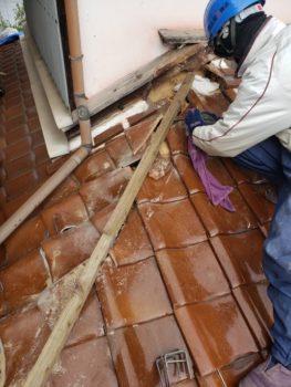 下地木材やり替え
