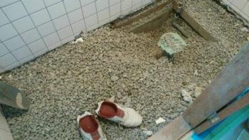 手洗いをトイレとは別につけるための工事について
