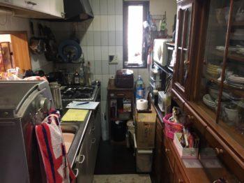 光が入らず暗かったキッチンを明るくしたリフォーム その1