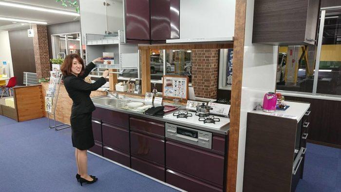 呉市 リフォーム キッチン